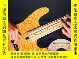 二手書博民逛書店Teach罕見Yourself Bass Guitar 貝斯自學教程( 1DVD)Y313549 比特 hl