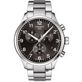 TISSOT天梭 韻馳系列 Chrono XL三眼計時手錶 (T1166171105701) /45mm