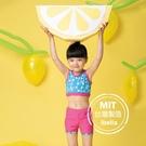 女童小魚印花背心泳衣泳褲(附帽)現貨台灣製造美國杜邦萊卡【36-66-G-8H20802-21】ibella 艾貝拉
