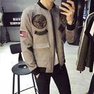 經典流行復古軍事風格圖徽造型百搭休閒外套