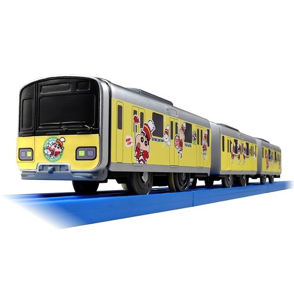 日本PLARAIL 鐵道王國 SC-08 蠟筆小新列車 東武50050型 TP11393(不含軌道) TAKARA TOMY