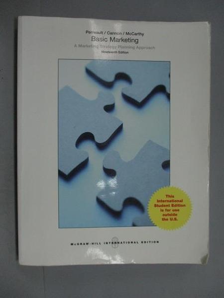 【書寶二手書T9/大學商學_ZKC】BASIC MARKETING_Perreault