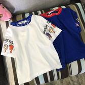 童裝短袖t恤兒童雪糕夏季男童女童半袖體恤衫中童韓國潮上衣【八五折優惠 最後一天】