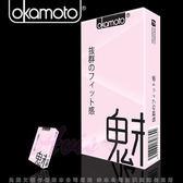 專售保險套 避孕套專賣店 Okamoto日本岡本-10入CITY 緊魅型 緊緻型 保險套 10片裝