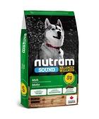 寵物FUN城市│紐頓nutram S9 成犬 羊肉+南瓜 狗飼料【11.4kg】犬糧