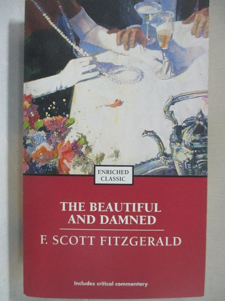 【書寶二手書T1/原文小說_BO6】The Beautiful and Damned_Fitzgerald, F. Scott