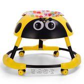學步車嬰兒幼兒兒童防側翻6-18個月多功能可折疊帶音樂燈光手推車jy 【麥田家居】