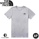【The North Face 男 吸排短袖棉T恤《灰》】4998/短袖T恤/短袖上衣/短袖POLO