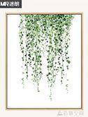 迷朗diy數字油畫北歐客廳餐廳植物現代簡約手工繪填色油彩裝飾畫 NMS造物空間