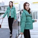 2019冬裝新款ins韓版短款加厚羽絨棉衣女學生寬鬆外套面包服棉襖 moon衣櫥