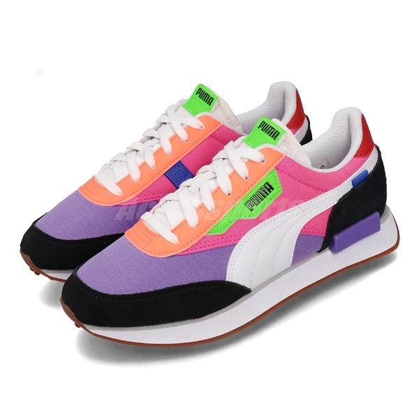 Puma 休閒鞋 Future Rider Play On 紫 粉紅 女鞋 運動鞋 Jolin 【ACS】 37114903
