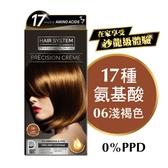 HAIR SYSTEM持久亮麗染髮霜 06 淺褐色
