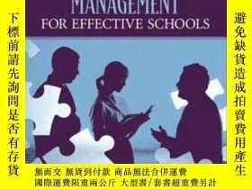 二手書博民逛書店Human罕見Resources Management For Effective SchoolsY36468