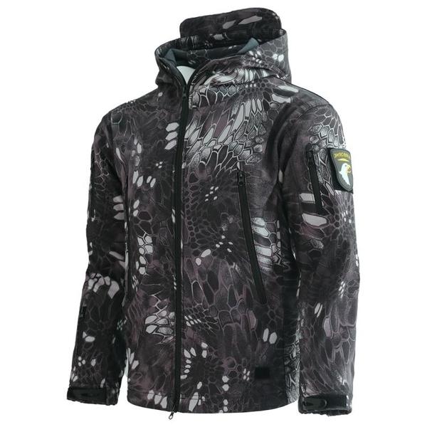 衝鋒衣男冬季防寒外套三合一軟殼衣防風防水登山服滑雪釣魚騎行服  亞斯藍