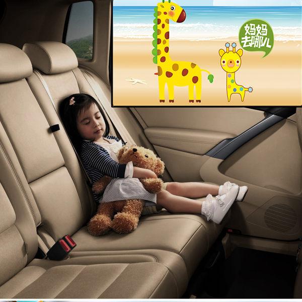 每人限購 現貨 汽車遮陽簾防曬隔熱車內用窗簾自動伸縮遮陽擋夏季側窗磁鐵遮光板