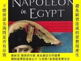 二手書博民逛書店NAPOLEON罕見in EGYPT (英文原版 拿破崙在埃及)
