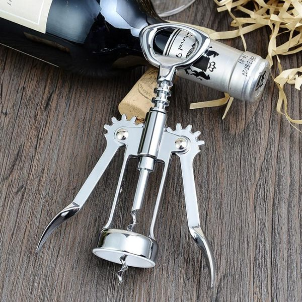 鋅合金紅酒開瓶器 創意葡萄酒啟瓶器 母親節禮物