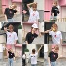 [超豐國際]短袖女學院原宿bf風夏裝寬松...
