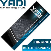 YADI 亞第 超透光 筆電 鍵盤 保護膜 KCT-THINKPAD 17 Ideapad 500s專用