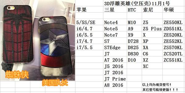 King*Shop~浮雕美國隊長索尼Z5 Z5Plus X XA XP C6 XZ XC手機殼XR空壓殻軟殻
