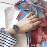 手錶女士手錶時尚新款潮流韓版簡約休閒大氣學生經典金屬淑女女表 夢想生活家