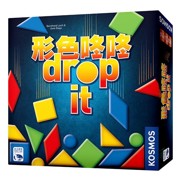 『高雄龐奇桌遊』形色咚咚 DROP IT 繁體中文版 正版桌上遊戲專賣店
