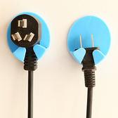 免釘強力粘膠插座掛鉤掛電源插頭的粘貼支架