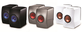 《新竹推薦音響店》贈M500專業耳罩式耳機  英國 KEF LS50 Wireless 優雅外型 無線WiFi喇叭 公司貨