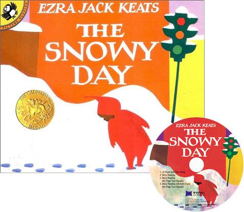 【麥克書店】『小熊媽的經典英語繪本』THE SNOWY DAY /英文繪本+CD 《主題: 想像》