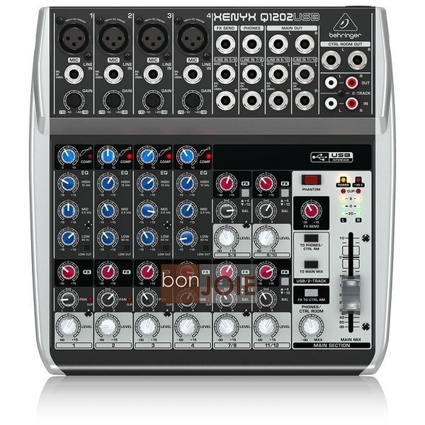 ::bonJOIE:: 美國進口 Behringer Xenyx Q1202USB Audio Mixer 混音器 (全新盒裝) USB介面 德國耳朵牌 Q1202 USB 介面