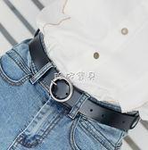 女性皮帶 針扣皮帶女士百搭休閒韓版學生簡約腰帶韓版圓環扣 珍妮寶貝