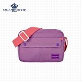 【COLORSMITH】CE.方型側背包・CE1006-A-PU