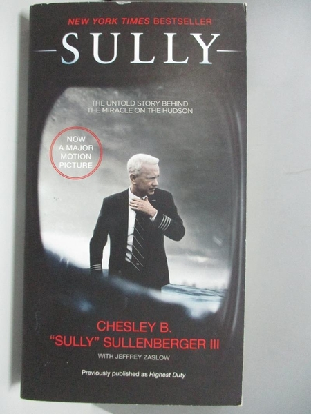 【書寶二手書T1/原文小說_AEQ】Sully: My Search for What Really Matters_Chesley