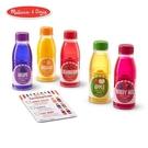 免運費《 美國 Melissa & Doug 》玩食趣 - 調味果汁瓶裝組╭★ JOYBUS玩具百貨