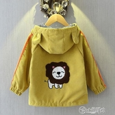 男童春秋洋氣連帽外套2020春季新款6個月1-6歲男寶寶嬰兒童裝風衣 小城驛站
