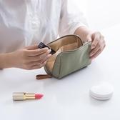 韓國化妝包簡約淑女迷你洗漱包防水小號便攜手拿隨身旅行收納包袋 錢夫人小鋪