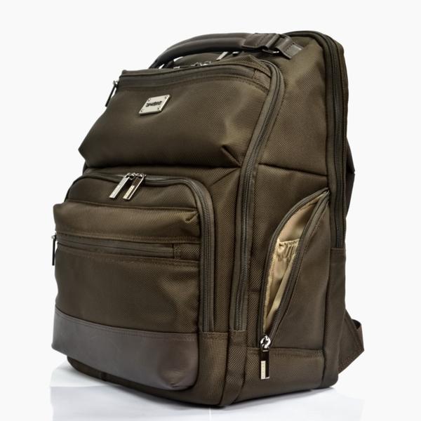 後背包 筆電收納 整合型後背包 公事後背包 DC7030-BR 咖啡色 Sphere 斯費爾專賣