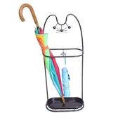 招財貓鐵藝家用雨傘架掛折疊傘收納架