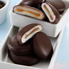 《大黑松小倆口》巧克力花生Q餅240g(QQ麻糬與香滑花生醬結合巧克力滋味)