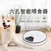 餵食器 貓咪自動餵食器狗狗定時投食器自動貓糧餵食機小型犬泰迪定時定量ATF  享購