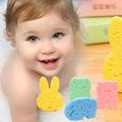 可愛動物寶寶木漿沐浴海綿 木漿海綿 海棉 沐浴綿 洗澡海綿