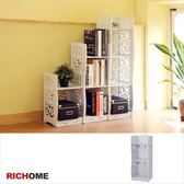 【RICHOME 】SH483 《南歐鄉村風三層架》五層架置物架 架