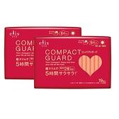 COMPACT GUARD GO可愛日用超薄25cm(19片/包)x2包組_日本大王elis愛麗思