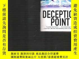 二手書博民逛書店英文原版小說罕見Deception Point 騙局   Dan
