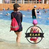 游泳包防水袋子海島泰國旅游必用品備干濕分離大容量沙灘包男女