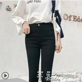打底褲女外穿新款秋冬季黑色小腳緊身高腰鉛筆褲子春季特賣