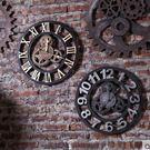 齒輪裝飾鐘錶壁掛  牆面壁飾【藍星居家】...
