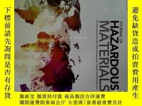 二手書博民逛書店Journal罕見of Hazardous Materials 5 10 2017 危險材料學學術期刊Y146