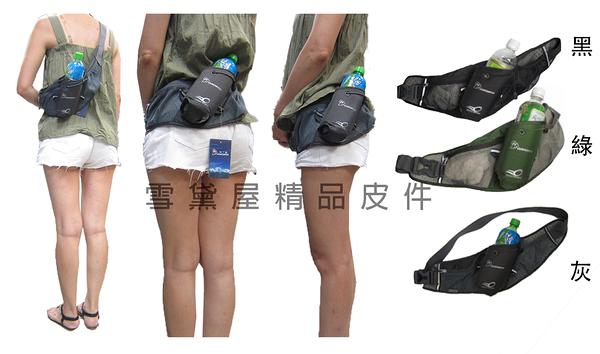 ~雪黛屋~MOUNTAINTOP 腰包慢多功能跑透氣水壺包可後背腰包加強透氣護腰背休閒運動單車防水HMPA7916
