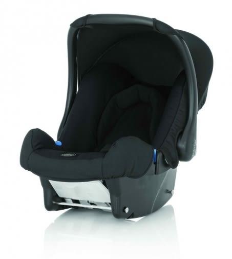 【愛吾兒】Britax Baby-safe 提籃型汽座 黑色